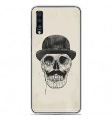 Coque en silicone Samsung Galaxy A50 - BS Class skull