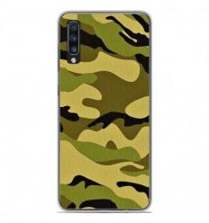 Coque en silicone Samsung Galaxy A50 - Camouflage