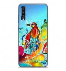 Coque en silicone Samsung Galaxy A50 - Mocking bird