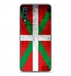 Coque en silicone Samsung Galaxy A50 - Drapeau Basque