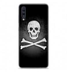 Coque en silicone Samsung Galaxy A50 - Drapeau Pirate