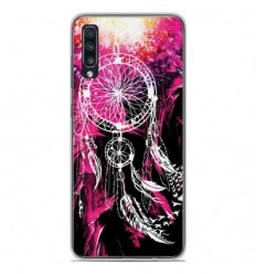 Coque en silicone Samsung Galaxy A50 - Dreamcatcher Rose