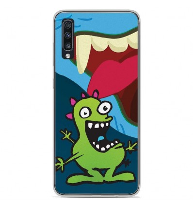 Coque en silicone Samsung Galaxy A50 - Happy Monster