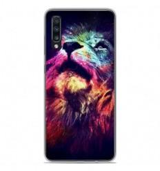 Coque en silicone Samsung Galaxy A50 - Lion swag