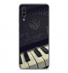 Coque en silicone Samsung Galaxy A50 - Old piano