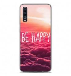 Coque en silicone Samsung Galaxy A70 - Be Happy nuage