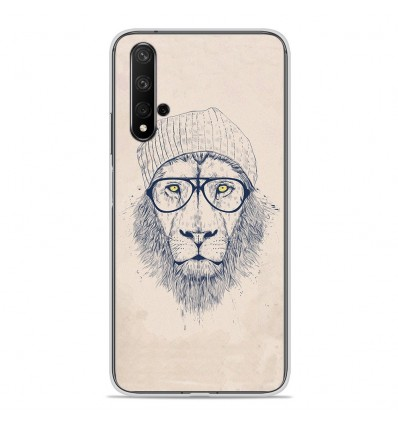 Coque en silicone Huawei Honor 20 - BS Cool Lion