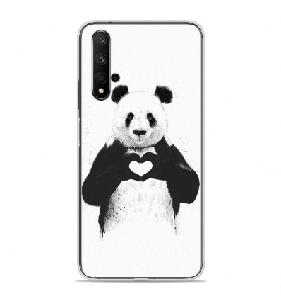 Coque en silicone Huawei Honor 20 - BS Love Panda