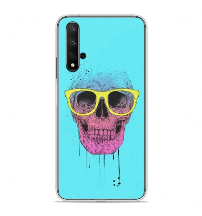 Coque en silicone Huawei Honor 20 - BS Skull glasses