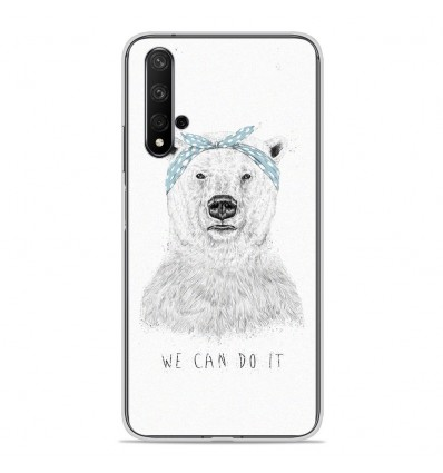 Coque en silicone Huawei Honor 20 - BS We can do it