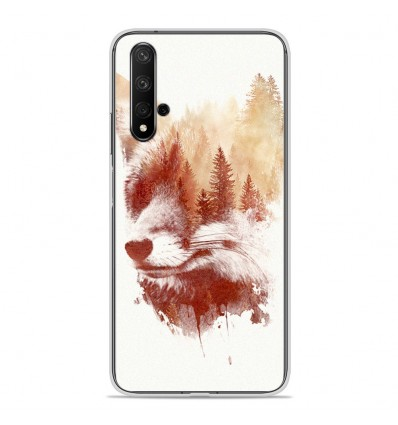 Coque en silicone Huawei Honor 20 - RF Blind Fox