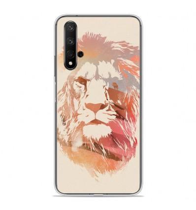 Coque en silicone Huawei Honor 20 - RF Desert Lion