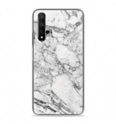Coque en silicone Huawei Honor 20 - Marbre Blanc