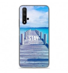 Coque en silicone Huawei Honor 20 - Stay positive