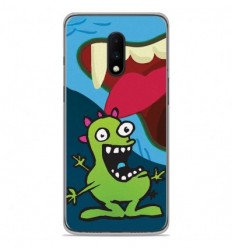 Coque en silicone OnePlus 7 - Happy Monster