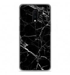 Coque en silicone OnePlus 7 - Marbre Noir