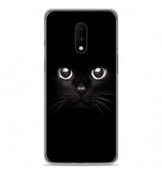 Coque en silicone OnePlus 7 - Yeux de chat