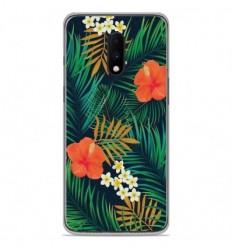 Coque en silicone OnePlus 7 - Tropical
