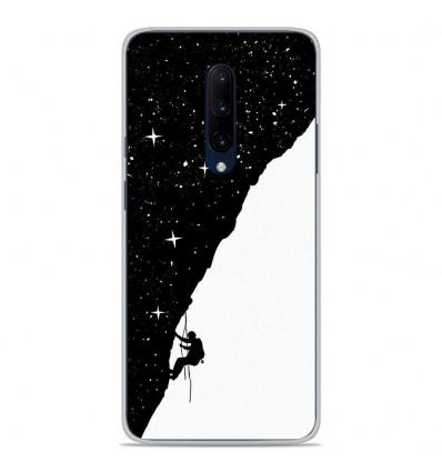 Coque en silicone OnePlus 7 Pro - BS Nightclimbing
