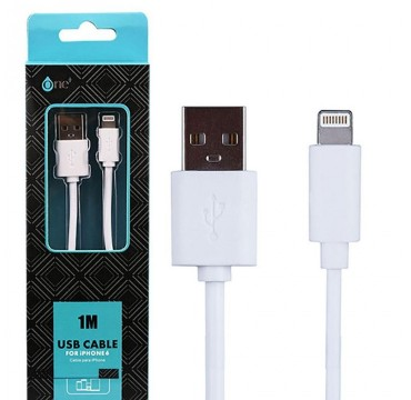 Cable USB Lightning 2A pour Apple IPhone / iPad