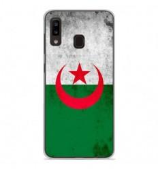 Coque en silicone Samsung Galaxy A20e - Drapeau Algérie
