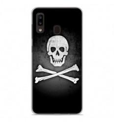 Coque en silicone Samsung Galaxy A20e - Drapeau Pirate