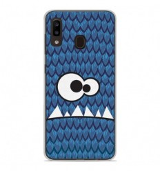 Coque en silicone Samsung Galaxy A20e - Monster