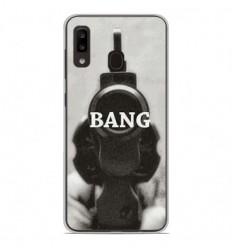 Coque en silicone Samsung Galaxy A20e - Bang