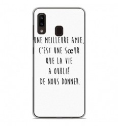 Coque en silicone Samsung Galaxy A20e - Citation 04