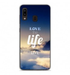 Coque en silicone Samsung Galaxy A20e - Citation 06