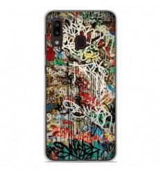 Coque en silicone Samsung Galaxy A20e - Graffiti 1