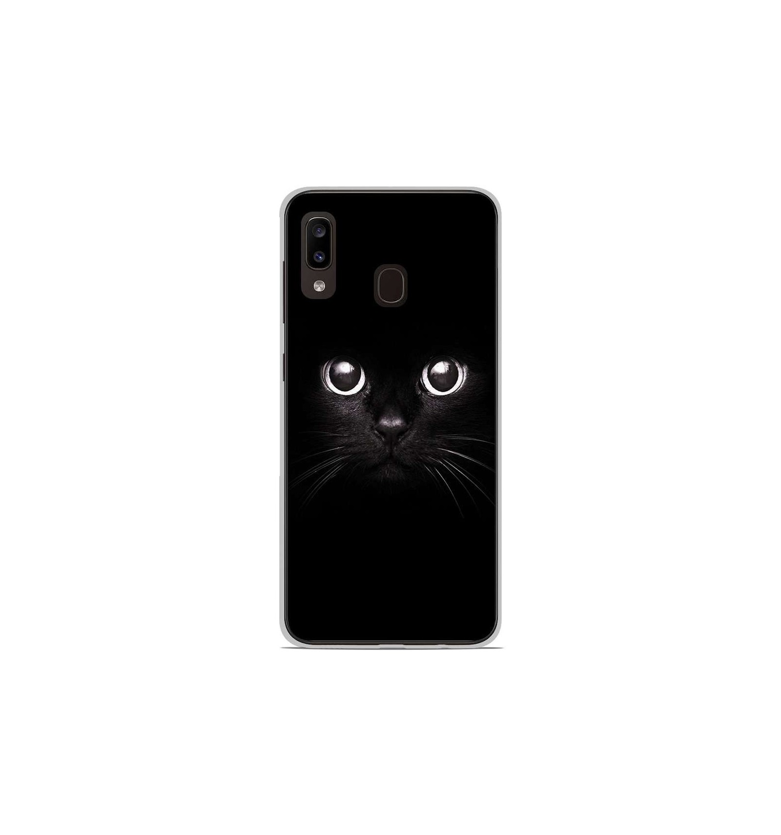 coque samsung a20e en silicone chat