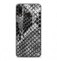 Coque en silicone Samsung Galaxy A20e - Texture Python