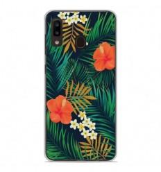 Coque en silicone Samsung Galaxy A20e - Tropical