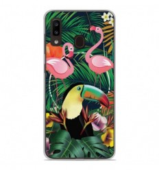 Coque en silicone Samsung Galaxy A20e - Tropical Toucan