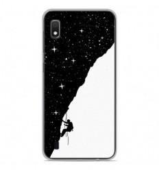 Coque en silicone Samsung Galaxy A10 - BS Nightclimbing