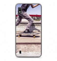 Coque en silicone Samsung Galaxy A10 - Skate