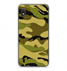 Coque en silicone Samsung Galaxy A10 - Camouflage