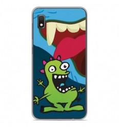 Coque en silicone Samsung Galaxy A10 - Happy Monster