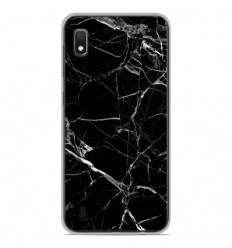 Coque en silicone Samsung Galaxy A10 - Marbre Noir