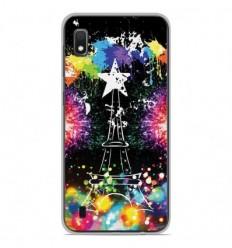 Coque en silicone Samsung Galaxy A10 - Tour Eiffel