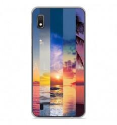 Coque en silicone Samsung Galaxy A10 - Aloha