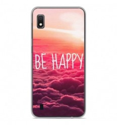 Coque en silicone Samsung Galaxy A10 - Be Happy nuage