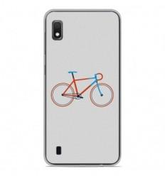 Coque en silicone Samsung Galaxy A10 - Bike color Hipster