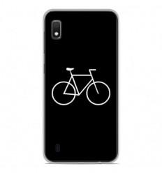 Coque en silicone Samsung Galaxy A10 - Bike Hipster