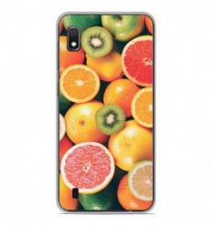 Coque en silicone Samsung Galaxy A10 - Fruits