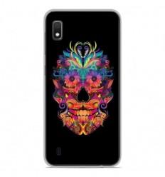 Coque en silicone Samsung Galaxy A10 - Masque carnaval