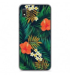 Coque en silicone Samsung Galaxy A10 - Tropical