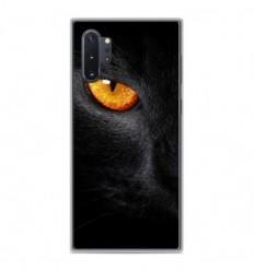 Coque en silicone Samsung Galaxy Note 10 Plus - Oeil de Panterre