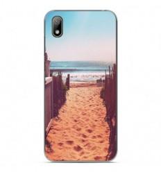 Coque en silicone Huawei Y5 2019 - Chemin de plage